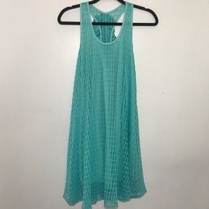 Rachel Kate Sea Foam Green Tank Dress